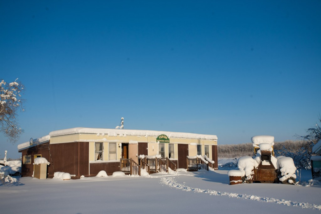 Yukon Riverview Motel. Circle City, Alaska.