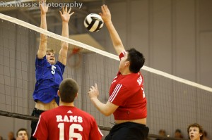 Volleyball photos from Whitehorse, Yukon. Photo by Rick Massie / Yukon Sports Photographer